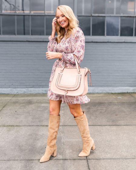 The best selling Sam Edelman knee high boots are on sale! 30% off! I sized up a half size. My satchel handbag is also on sale 30% off site wide. http://liketk.it/2LLNd #liketkit @liketoknow.it #LTKsalealert #LTKunder100