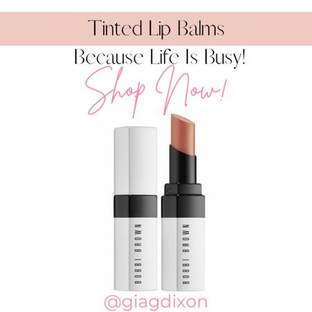 Tinted lip balms you can't go wrong with because life gets busy.  #LTKSeasonal #LTKstyletip #LTKbeauty