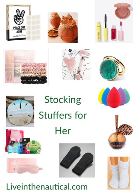 Stocking stuffers for her!   Stocking stuffers don't have to be boring or fillers! These are sure to be a win for the holidays!  #LTKCyberweek #LTKGiftGuide #LTKHoliday