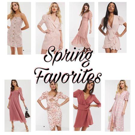 http://liketk.it/2MhU7 #liketkit @liketoknow.it #LTKspring #LTKunder50 #LTKsalealert  asos, pink, spring, floral, spring fashion, flowy dresses, blazer dress, summer, vacation, boho, beach