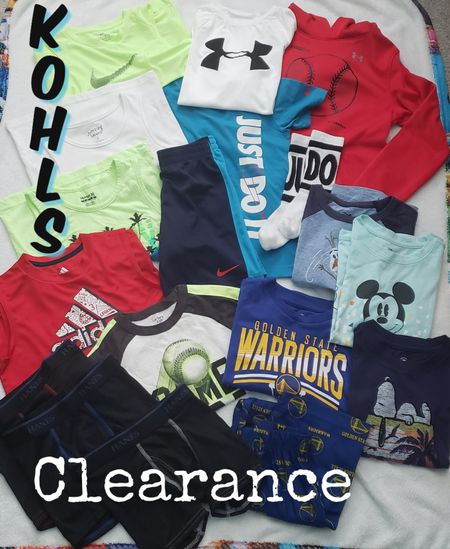 Lots of great clearance deals at kohls right now. I found all these in store from $2 to $10. Not everything is online but linked up some close finds that are on major discount too. Check out their site there are so many more options for kids and even adults clothes on sale http://liketk.it/3e0LM @liketoknow.it #liketkit #LTKSpringSale #LTKsalealert #LTKstyletip #LTKunder100 #LTKunder50 #LTKfamily #LTKbaby #LTKkids @liketoknow.it.family