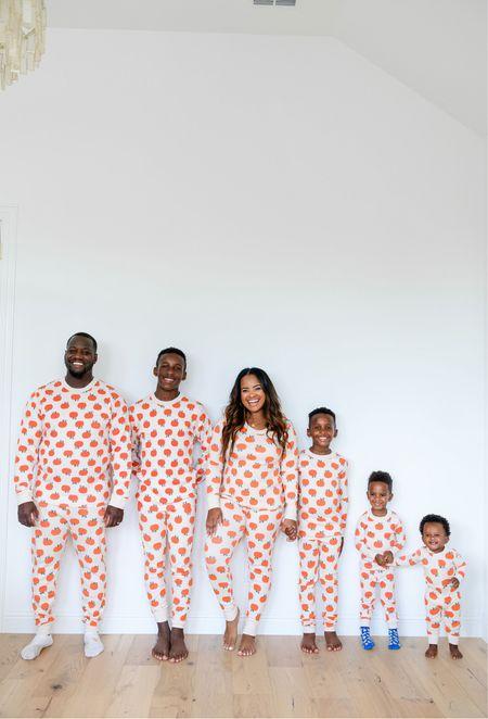 Halloween pumpkin pajamas on sale. Good matching pajamas   #LTKfamily #LTKSeasonal #LTKHoliday