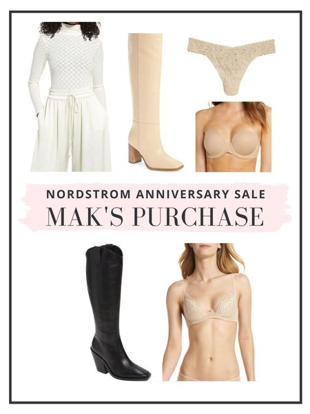 The Nordstrom Anniversary Sale is now open to everyone! Here's what Mak purchased for herself this year!   #LTKsalealert #LTKshoecrush #LTKunder100