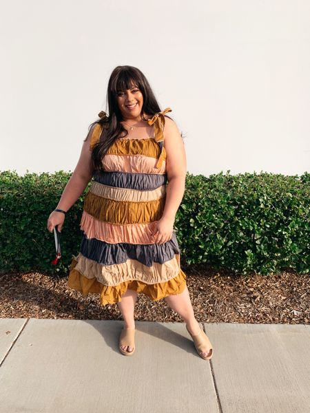 Calling it now - this plus size Anthropologie dress is gonna be IT DRESS of the summer! Big Palm Springs / Joshua tree 🌳 vibes and fits true to size   #LTKcurves #LTKunder50 #LTKstyletip