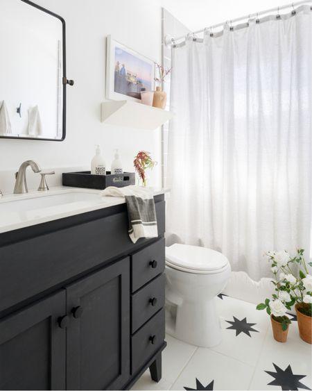 DIY Bathroom Reveal  http://liketk.it/36wXz   #liketkit #StayHomeWithLTK #LTKhome #LTKbeauty   @liketoknow.it @liketoknow.it.family @liketoknow.it.home