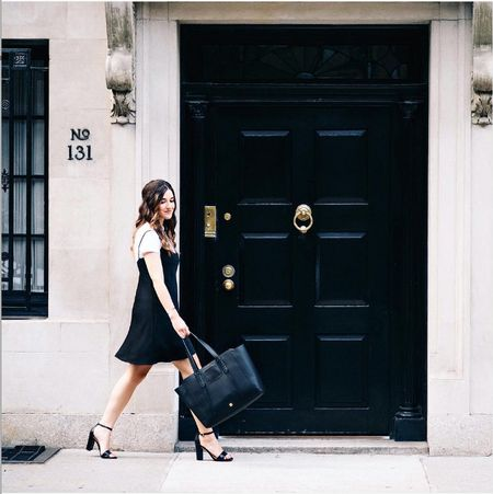@LouboutinsandLove struts her stuff in our Klover Sandal and Soho Tote. Shop these at #Nordstrom and #Zappos. http://liketk.it/2p17T @liketoknow.it #liketkit