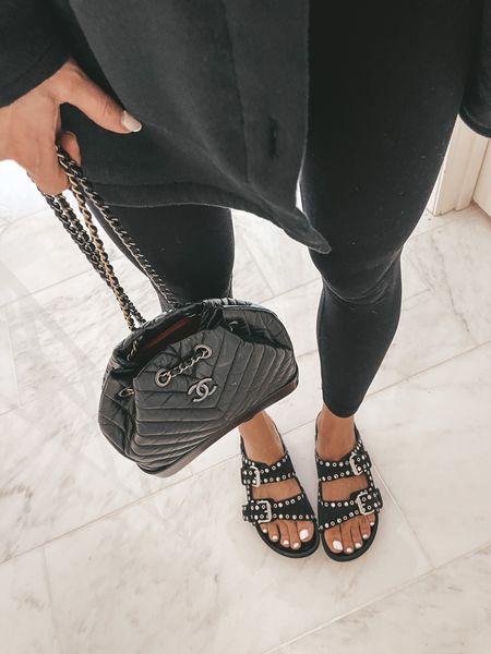 Those sandals styled here run tts  #LTKshoecrush #LTKitbag