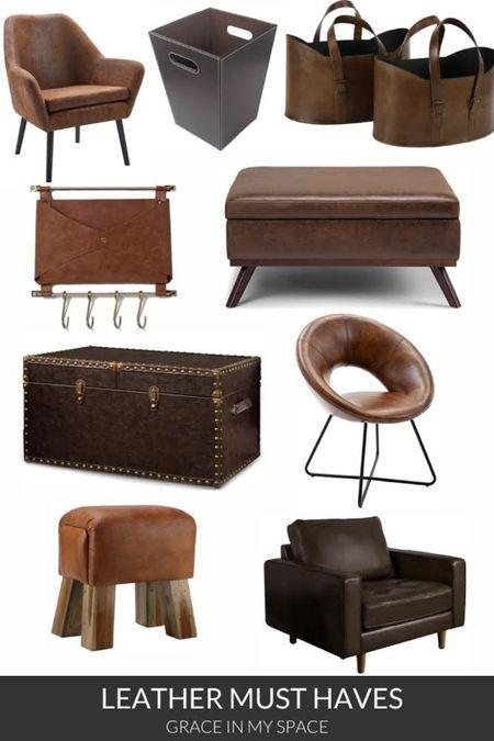 Shop some beautiful leather home furnishings! http://liketk.it/3jgag  #liketkit @liketoknow.it