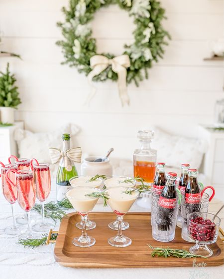 Affordable drink and barware for a Christmas drink station! http://liketk.it/32TfP #liketkit @liketoknow.it