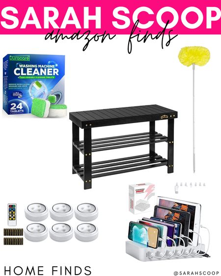 These are the perfect products from Amazon to add to your home! 🏡❤️  #washingmachinecleaner#Duracare#ceilingduster#fanduster#Estilo#chargingstation#Poweroni#LEDpucklights#BrilliantEvolution#Shoerack#shoebench#Homemaid#amazon#amazonfinds#musthaves#amazonmusthaves#home#homefinds  #LTKhome #LTKGiftGuide #LTKunder50