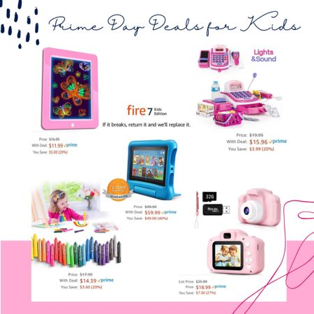Prime Day Deals for Kids @liketoknow.it #liketkit http://liketk.it/2YLod #LTKunder50 #LTKfamily #LTKkids