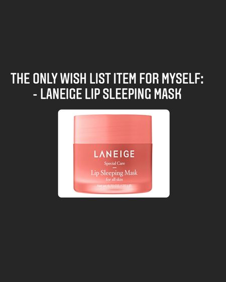 The only item on my wish list for this Sephora sale is this laneige lip sleep mask. I've heard fantastic things about it and I'd like to finally try it out.    http://liketk.it/3cyHv #liketkit @liketoknow.it #LTKsalealert #LTKunder50 #LTKwedding @liketoknow.it.home