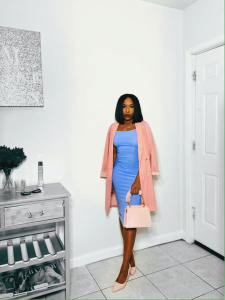 Spring is in the air & I'm in love with this perfect pastel pink and baby blue outfit. Shop my daily looks by following me on the LIKEtoKNOW.it shopping app #LTKspring #LTKunder50  #liketkit @liketoknow.it #LTKworkwear http://liketk.it/2No4j