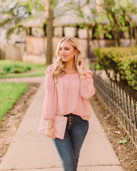 Feels so good to be shooting with @photo.mollyelizabeth again! This pink number will be heading to the blog soon! 💗 @liketoknow.it #liketkit #LTKsalealert #LTKunder50 http://liketk.it/2C58p