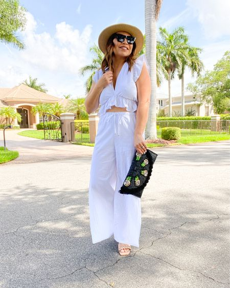 I love wearing white all year round - maybe that's breaking the rules?!?!  News flash, rules are meant to be broken, LOL.  .  Shop my daily looks by following me on the LIKEtoKNOW.it shopping app #LTKsalealert #LTKunder50 #LTKtravel http://liketk.it/3h69t #liketkit @liketoknow.it