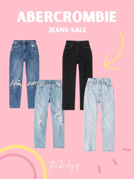 My fav jeans from Abercrombie for their 30% off sale today!  #LTKcurves