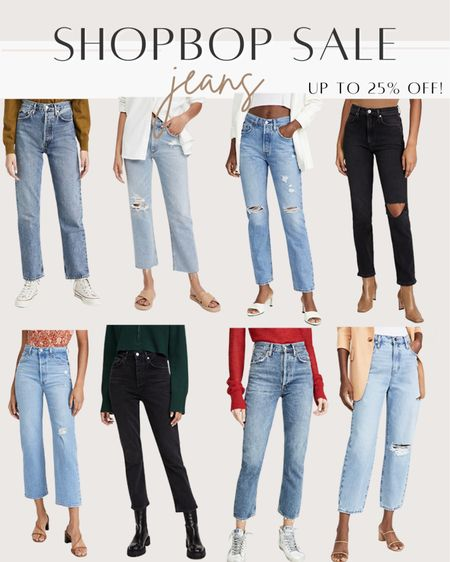 My jeans picks from the Shopbop style event sale! Get up to 25% off using code STYLE   #LTKunder100 #LTKsalealert
