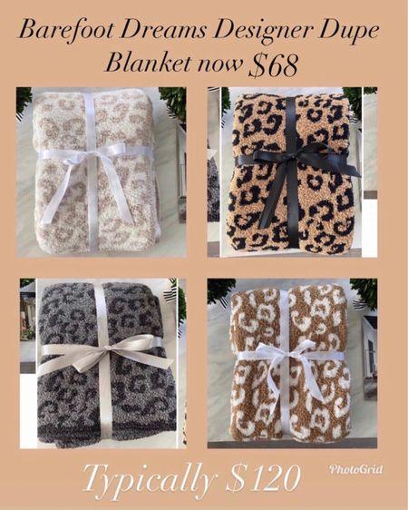 The Barefoot dreams dupe blanket is now $68 during the LTK Day Sale     #LTKhome #LTKsalealert #LTKday  http://liketk.it/3huRi #liketkit @liketoknow.it     Hermès dupe blanket Cozy blankets  Gifts for mom  Gifts for sister in law  Hostess gift  Housewarming gift  Barefoot dreams dupe  Hermès  Hermès dupe blanket  Home decor  Leopard blanket