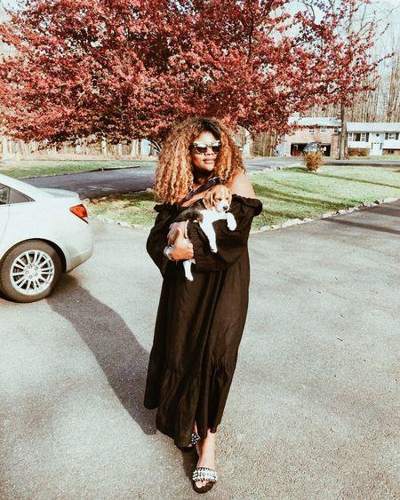 A girl's best friend // off-shoulder dress @liketoknow.it http://liketk.it/2vq9e #liketkit