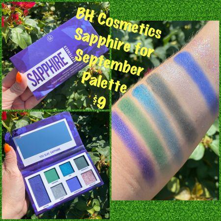 NEW BH Cosmetics Sapphire Palette 💙! #steffsbeautystash  #LTKbeauty #LTKsalealert #LTKunder50