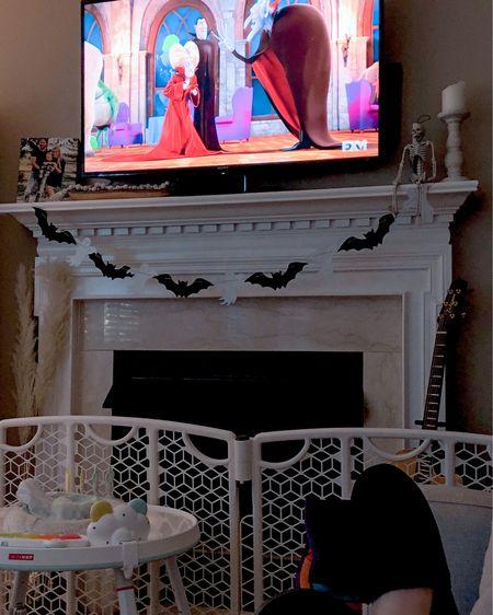 #halloween #slippers #bats #skeletons   #LTKhome #LTKSeasonal