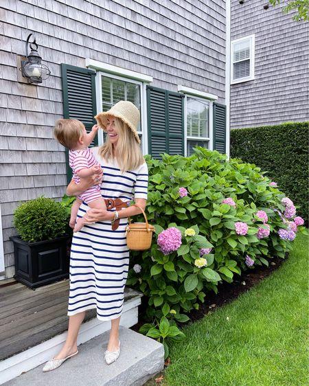 The most classic stripe sweater dress there ever was! My perfect summer wardrobe 💙 http://liketk.it/3jzkr @liketoknow.it #liketkit #LTKstyletip #LTKshoecrush #LTKunder100