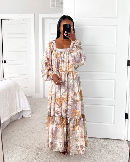 maxi dress in floral satin burnout with square neck, summer dress, summer outfit, summer fashion, floral dress, satin dress, formal dress, wedding guest dress @liketoknow.it #liketkit http://liketk.it/3h8Gi #LTKstyletip #LTKwedding