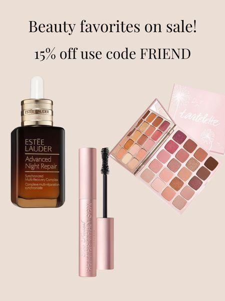 Beauty favorites on sale! #serum #mascaraonsale #eyeshadow   #LTKunder100 #LTKbeauty #LTKSeasonal