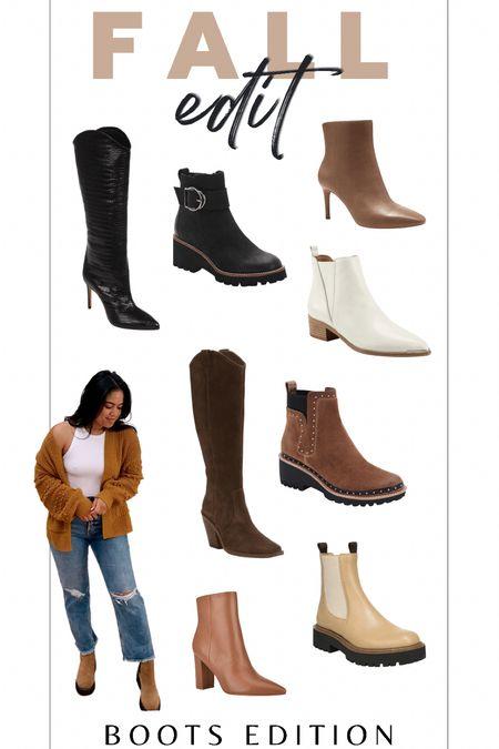 Fall boots // fall style   #LTKSeasonal #LTKunder100 #LTKshoecrush