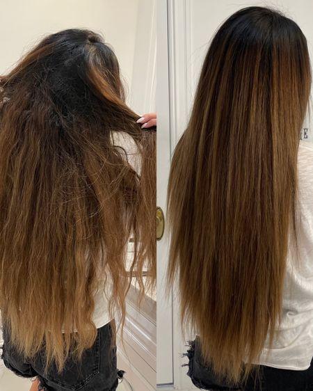 Hair.com, Emily Ann Gemma hair, Hair Tutorial, L'Oréal Professionel Steampod, Hair steamer, hair straightener, hair product review, hair straightening tutorial http://liketk.it/3hhnN #liketkit @liketoknow.it #LTKbeauty