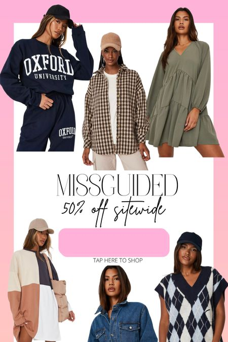 50% off missguided!