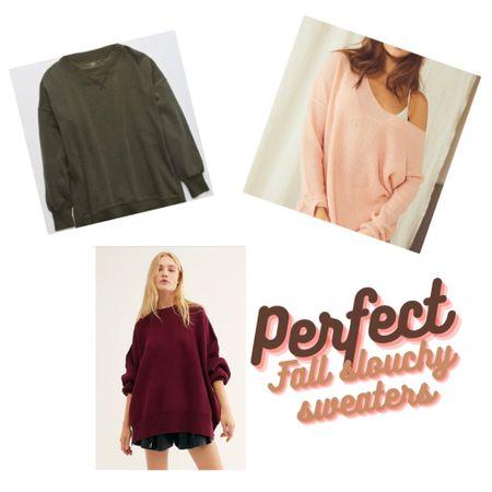http://liketk.it/2XBWc #liketkit @liketoknow.it #LTKbump #LTKunder50 #LTKunder100  perfect fall slouchy oversized sweaters that work for maternity or not! Nursing-friendly!