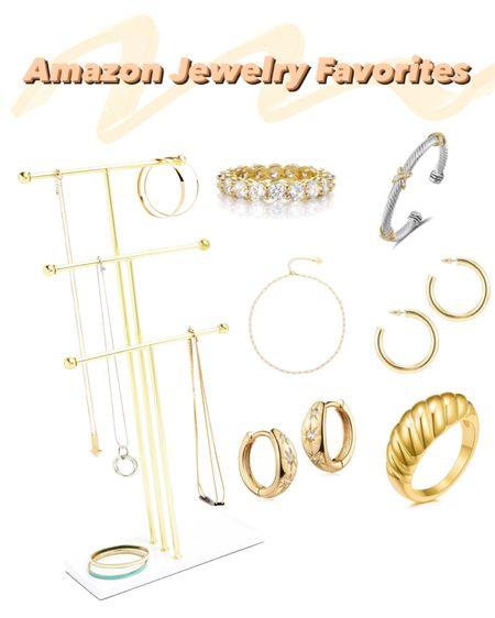 Favorite gold jewelry from Amazon & cute storage http://liketk.it/36MTX @liketoknow.it #liketkit #LTKbeauty #LTKstyletip #LTKunder50