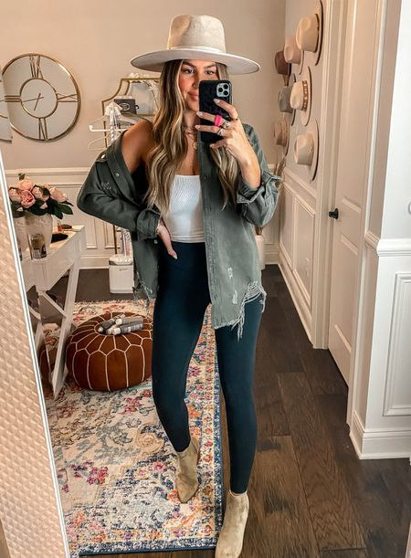 Hollie15 for 15% off shacket and booties