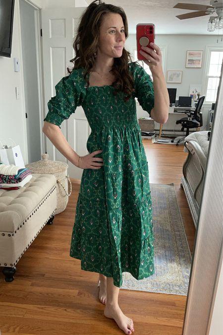 Part of the Hill House Nap dress fan club - the  Emerald Trellis is the perfect spring dress http://liketk.it/38JAA @liketoknow.it #liketkit #LTKstyletip