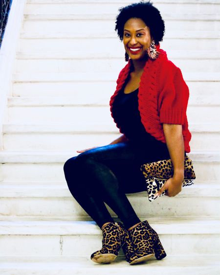 http://liketk.it/2yNnP A little bit of leopard goes a long way! 🐆This look is on the kblog via link in profile ❤️ . . Shop my daily looks by following me on the LIKEtoKNOW.it app #liketkit @liketoknow.it  . .  #LTKholidaystyle #LTKbeauty #LTKcurves #LTKitbag #LTKshoecrush #LTKunder100