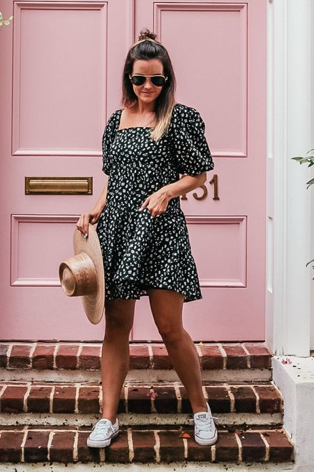 a cute little dress for fall weather, under $100 + wearing a size small   #LTKunder100 #LTKtravel