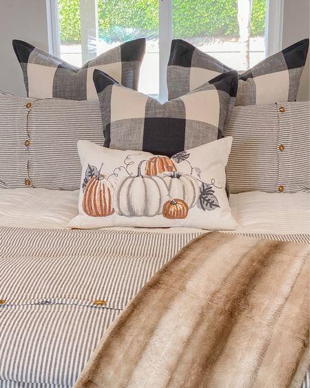 http://liketk.it/2Z9Fq  Buffalo Plaid  Buffalo Checked Fall Bedding Pumpkin Pillow Guest Bedroom  #liketkit #LTKhome #LTKsalealert #LTKunder50 #LTKfall @liketoknow.it @liketoknow.it.home