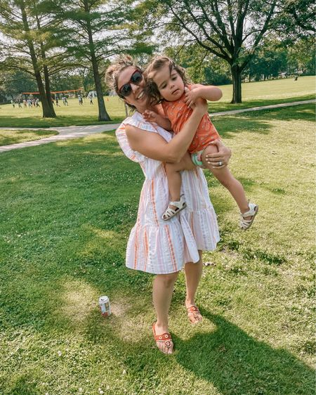 The reality of trying to get a photo with a wiggly toddler 😹. My dress is only $15 and I've worn it twice in one week. Oops! Linked here wind on my stories. >> http://liketk.it/3k6n8 #liketkit @liketoknow.it  #LTKunder50 #LTKstyletip #LTKfamily