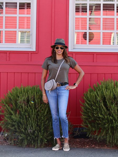 My fave weekend California casual jeans and tee outfit! http://liketk.it/2Sgwj #liketkit @liketoknow.it