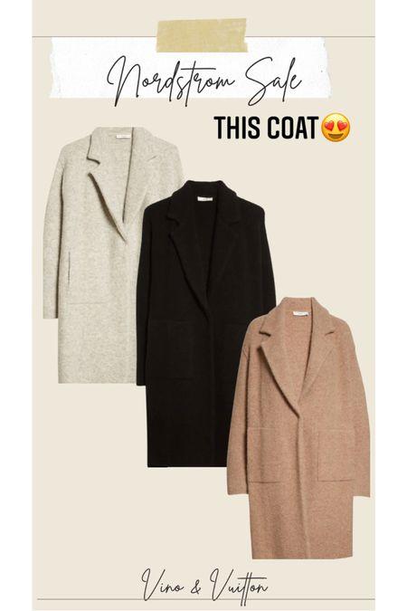 Nordstrom anniversary sale — most gorgeous fall wool blend coat! On sale   @liketoknow.it   #LTKsalealert #LTKstyletip #LTKworkwear #nsale #nordstromsale #falldresses   #liketkit http://liketk.it/3jFzp