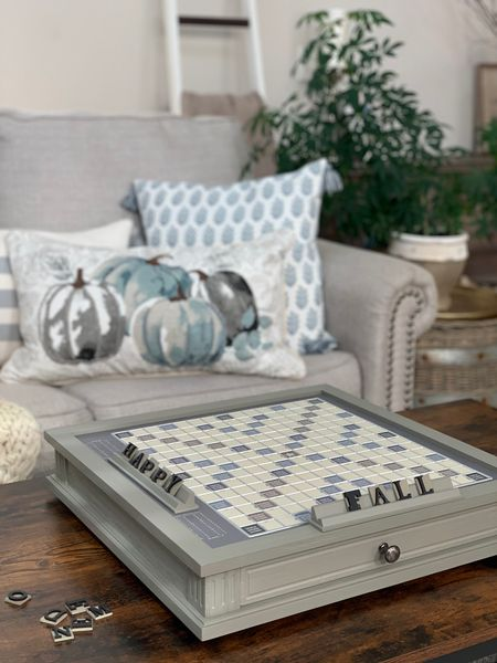 We love games and I was so excited to find game boards that match my decor!   So easy to just pick up and play when it's right here instead of everyone staring at their phones 📱 😂😂  #LTKGiftGuide #LTKHoliday #LTKfamily