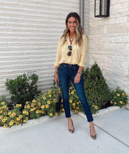 Date night!💃🏻 Leopard heels are 49% OFF! Walmart top and jeans.      #LTKunder100 #LTKshoecrush #LTKworkwear