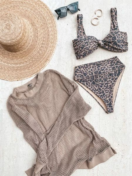 Today's beach look! Wearing size small in all   #LTKtravel #LTKswim