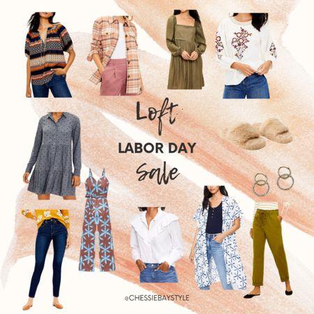 Labor Day sale at Loft!!!!!     #LTKsalealert #LTKbacktoschool #LTKSeasonal