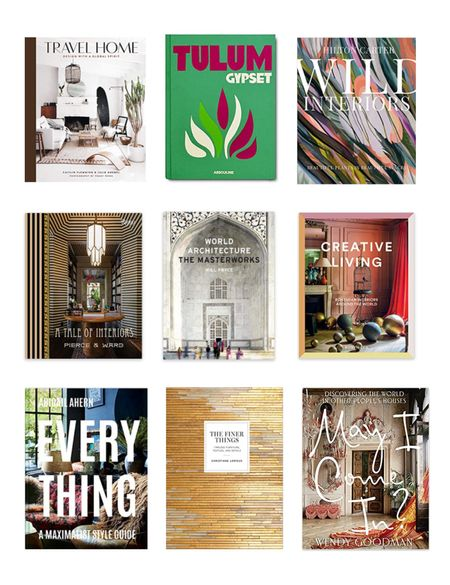 Coffee tables books are a designers best friend. I'm sharing my list of books that I keep on hand for clients and have in my own home.   #LTKhome #LTKstyletip