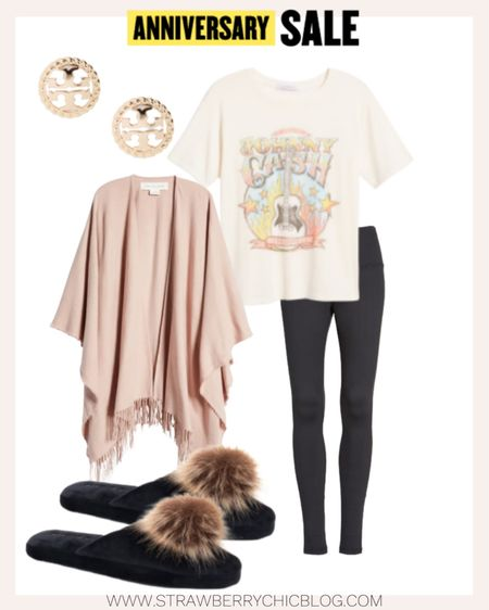 Love this graphic tee paired with my favorite lounge leggings.   #LTKsalealert #LTKhome