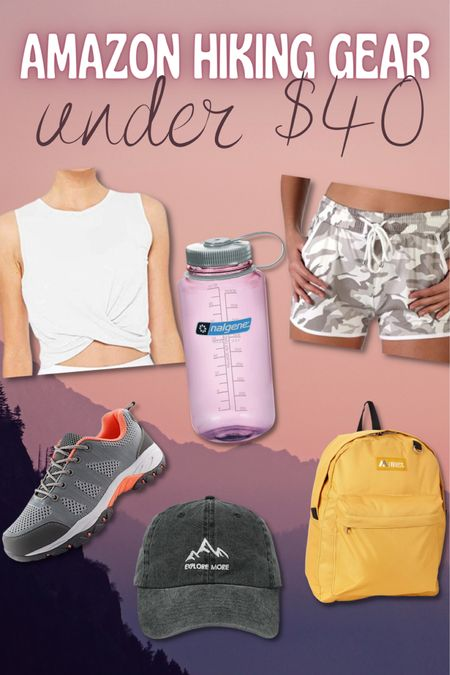 Amazon, outdoor, hiking, trail, gear, workout, fitness, activewear, tennis shoes, hiking shoes, tank, shorts, water bottle, hat, backpack, bag http://liketk.it/3jZg4 #liketkit @liketoknow.it #LTKunder50 #LTKtravel #LTKfit You can instantly shop my looks by following me on the LIKEtoKNOW.it shopping app