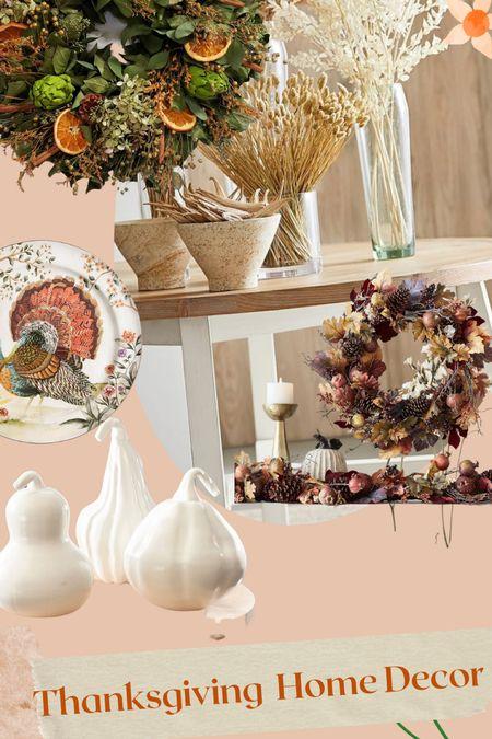 Thanksgiving home decor Family dinner Fall festivities Plate settings  #LTKHoliday #LTKSeasonal #LTKGiftGuide