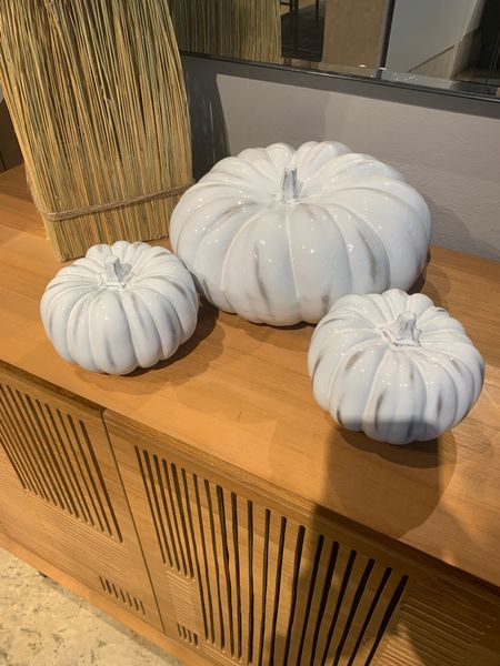 Fall decor. Ready for Halloween. Pumpkin decor. Home decor. Halloween decor. Pumpkin season. Interior design. Entry way idea. Table decor. Tablescapes. Crate and Barrel. Target style.  #LTKSeasonal #LTKfamily #LTKhome